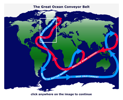 Image of great ocean conveyor belt simulation