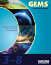 Cover of GEMS and NGSS alignment document