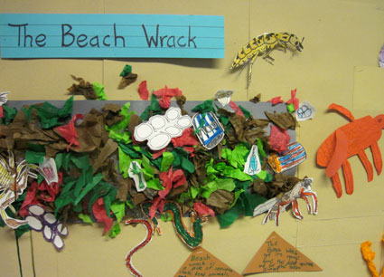 The Beach Wrack, art work